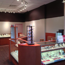Jewellery store after