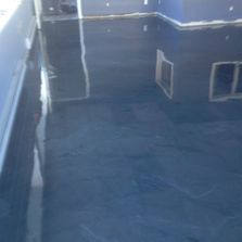Reflective floor after