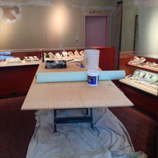 Jewellery store before